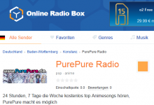 PurePure Radio goes onlineradiobox.com