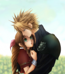Final Fantasy 7 Cloud Aeris