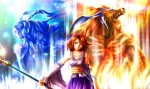 Final Fantasy 10 Ifrit Yuna Shiva