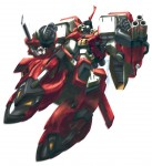Giant Mecha Super Robot Wars Original Generation Alteisen Custom Melee rot Revolving Stake