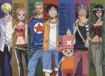 One Piece Ruffy Nami Robin Chopper Lorenor Zorro Sanji