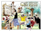 One Piece Ruffy Lorenor Zorro Sanji Lysop Tier Pinguin schlafen Bank Bauplan