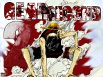 One Piece Ruffy Strohhut Gear 2 Second Qualm Rauch