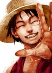 One Piece Ruffy Strohhut