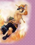 One Piece Ace Feuer