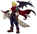 Final Fantasy 7 Kingdom Hearts Cloud