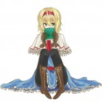 Touhou Margatroid Alice Buch