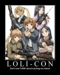 Loli-Con Loli Lolicon Gunslinger Girl Motivation Pic