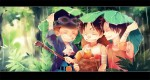 One Piece,  Monkey D. Luffy, Portgas D. Ace, Sabo, Regen, Kinder